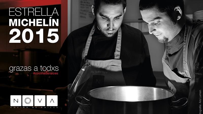 Estrella Michelin 2015 - Restaurante Nova